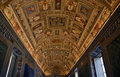 Vatican Museum Map Room Rome Royalty Free Stock Photography