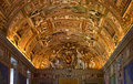 Vatican Museum Map Room Rome Italy Stock Photos