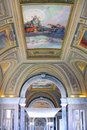 Vatican Museums - Gallery of Vatican. Italy, Rome. Royalty Free Stock Photo