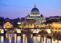 Vatican at Night Royalty Free Stock Photo
