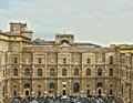 Vatican palace where the pope sleeps Royalty Free Stock Images