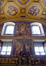 Vatican room of the immaculate conception decorated with frescoes by podesti in museums rome Stock Photo