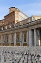 Vatican square in rome italy Stock Photo