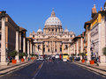 Vatican view Royalty Free Stock Photos