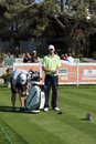 Vaughn Taylor 2012 Farmers Insurance Open Royalty Free Stock Images