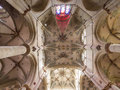Vault of liebfrauen church in trier germany the liebfrauenkirche our dear lady is a th century parish separated from cathedral by Royalty Free Stock Photos