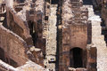 Vaults of the Colosseum in Rome, Italy Royalty Free Stock Photos