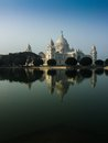 Vctoria Memorial, Kolkata , India - reflection on water. Stock Photography