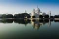 Vctoria Memorial, Kolkata , India - reflection on water. Royalty Free Stock Images