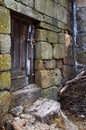 Vecchia Camera rurale Fotografie Stock Libere da Diritti
