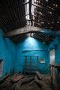 Vecchia stanza abbandonata Fotografie Stock