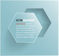 Vector abstract background hexagon web design Royalty Free Stock Image