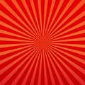 Vector abstract background of orange and red star burst rays