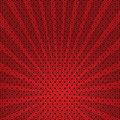 Vector abstract background of red star burst Stock Images