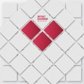 Vector abstract background squares white and shadow Royalty Free Stock Photography