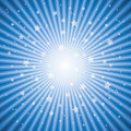 vector abstract background of star burst Royalty Free Stock Photo