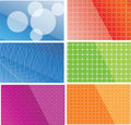 Vector abstract backgrounds Stock Photography