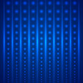 Vector abstract bright blue geometric background Royalty Free Stock Photo