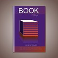 Vector abstract brochure, graphic design