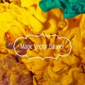 Vector abstract cloud. Ink swirling in water, cloud of ink. Abstract banner paints. Holi Frame with your text. Royalty Free Stock Photo