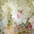 Vector abstract colorful mosaic background of brown, pink and gray color.