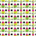 Vector abstract colorful seamless pattern backgrou Royalty Free Stock Image