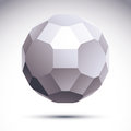 Vector Abstract 3D Object, Des...