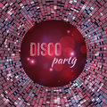 Vector abstract disco background