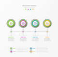 Vector abstract element for business.Strategy in stages.Steps of