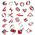 Vector Abstract Elements Royalty Free Stock Photos