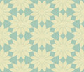 Vector abstract flowers seamless pattern Royalty Free Stock Photos