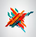 Vector abstract, geometric element, Modern minimalist design. Bu