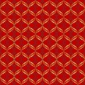 Vector abstract geometric seamless pattern.