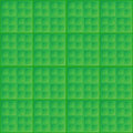 Vector abstract green seamless simple pattern square tiles Royalty Free Stock Image