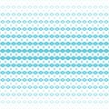 Vector abstract halftone geometric seamless pattern. Blue and white color