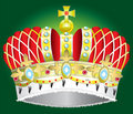 Vector abstract Medieval royal crown Stock Photography