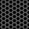 Vector abstract monochrome geometric texture, mosaic