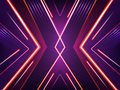 Vector abstract neon background. Bright shining pattern