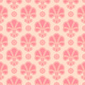 Vector abstract ornamental shelly seamless pattern Stock Photos
