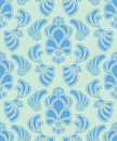 Vector abstract ornate shelly seamless pattern Royalty Free Stock Images