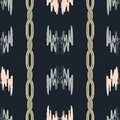 Vector abstract pattern with gold chains.