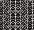 Vector Abstract Seamless Pattern. Art Deco Style Background. Geometric texture. Royalty Free Stock Photo