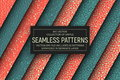Vector Abstract Simple Seamless Patterns