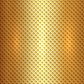 Vector abstract square metal gold hexagon cell Royalty Free Stock Photo