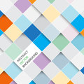 Vector Abstract Squares Backgr...