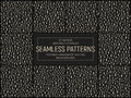 Vector Abstract Stippled Seamless Patterns