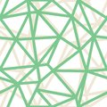 Vector Abstract Triangle Geometrical Green Outlines Background. Suitable for textile, gift wrap and wallpaper