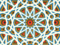 Vector abstract volumetric geometric background. Based on islamic ethnic ornaments. 3d extruded ornament elements. E