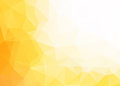 Vector abstract yellow white background