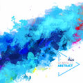 Vector abstraction from a mixture of colors abstract watercolor palette mix stains with spray water the author s work Royalty Free Stock Photography